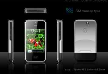 T32: bel clone di iPhone