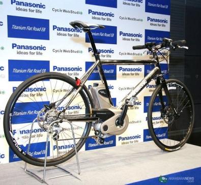 Bici elettrica Panasonic Titanium EB