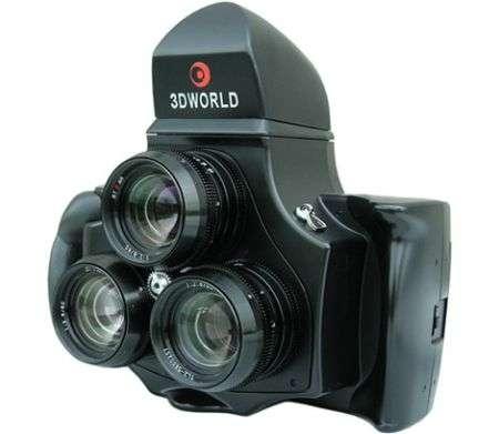 3D World 120: Trilente Stereo Camera