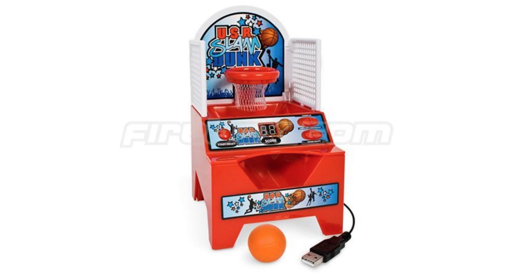 USB Desktop Dunk: basket da dita