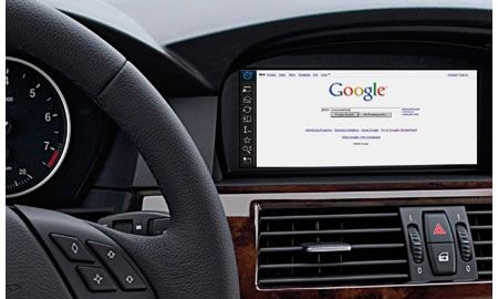 BMW ConnectDrive internet in auto