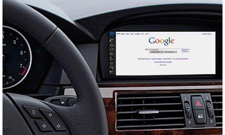 BMW ConnectDrive internet in auto
