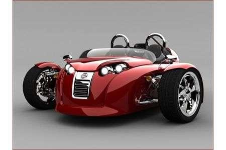 Cirbin V13R: tre ruote sportivo