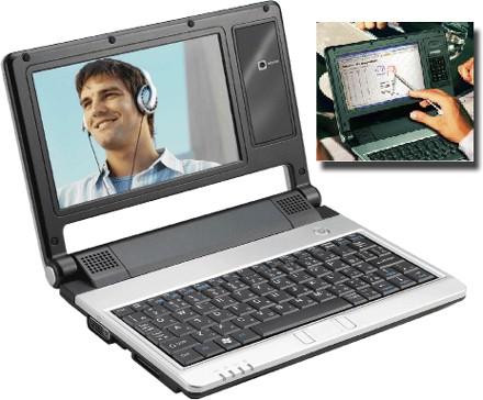 Everex Cloudbook con touchscreen e bluetooth