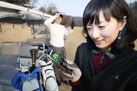 I Cellulari Coreani e il Golf