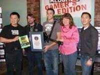 Campione di Guitar Hero sul Guinness dei Primati