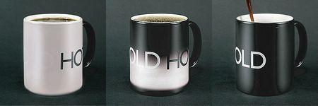 HotCold: la temperatura colora la tazza
