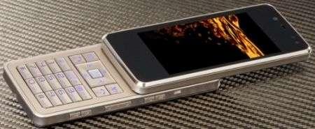 "Softbank 921SH ""FullFace2"": iPhone slider"