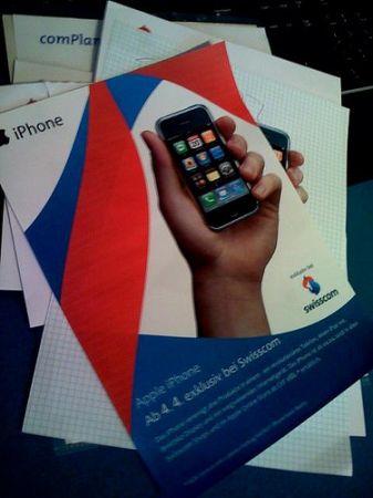iPhone in Svizzera con Swisscom?