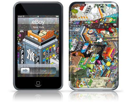 Protezione per iPod: l'arte di Eboy