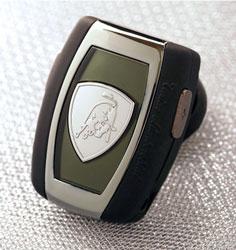 Lamborghini Bello, auricolare graffiante