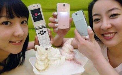 LG Ice Cream Phone