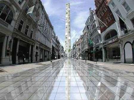 La Torre alta un miglio a Londra