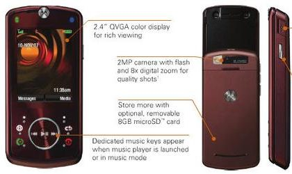 Motorola Z9: slider phone rivelato