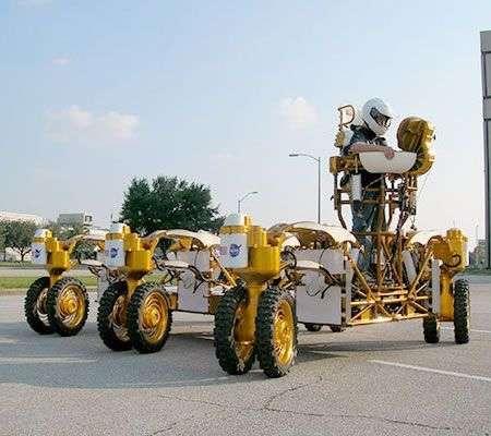 NASA Chariot: un nuovo mezzo lunare