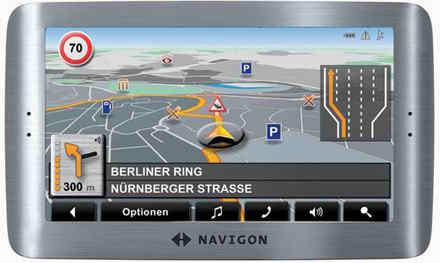 Navigon 8110 al Cebit 2008