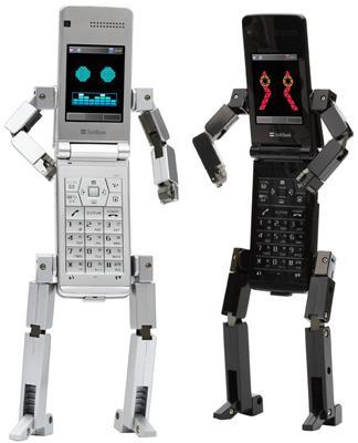 Softbank 815T PB by Toshiba: un telefono robot…