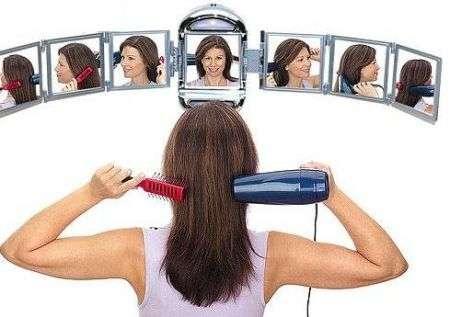 Specchio a 360 gradi!