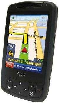 Airis T482, GPS Phone