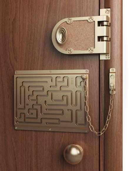 La Catena da porta più sicura