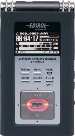 Edirol R-09HR: voice recorder di classe