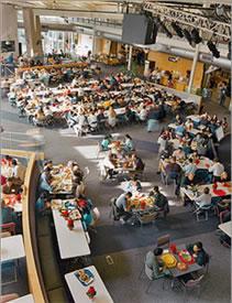 Google e i pasti gratis ai dipendenti