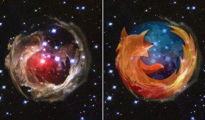 """La stella """"Firefox"""" V838 Monocerotis"""