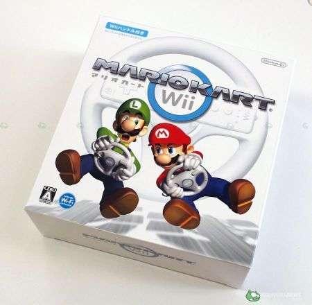 Mario Kart Wii unboxing