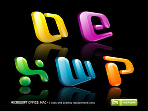 microsoft office  mac by deleket