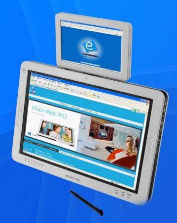 Tablet pc con doppio display da E-Detail