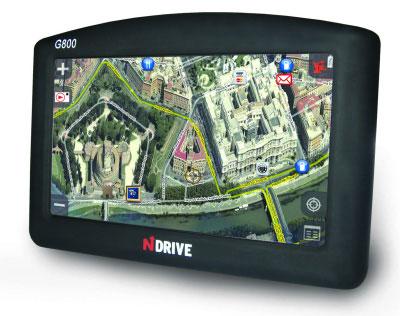 NDrive G280R e G800: navigatori GPS con foto reali