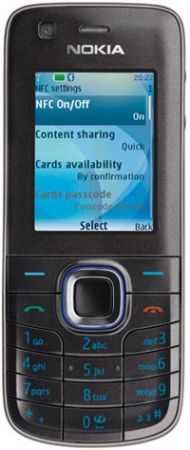 Nokia 6212 Classic con NFC