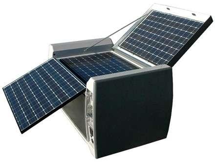 Powercube: cubo solare