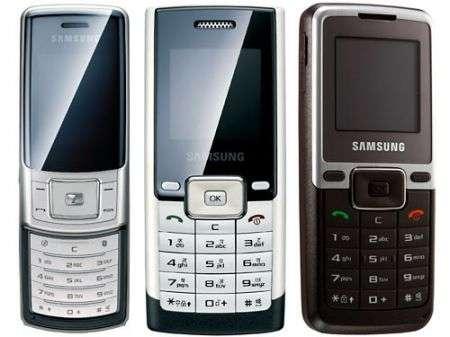 Samsung M620, B200 e B110 entrylevel
