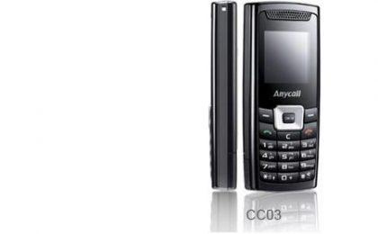 Samsung CC303, candybar semplicissimo
