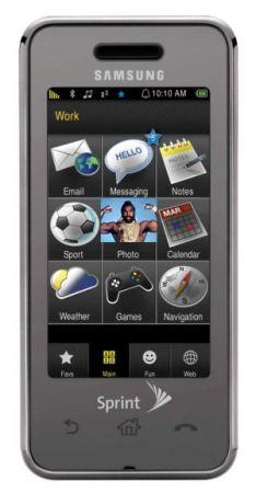 Samsung Instinct: una valida alternativa all'Iphone?