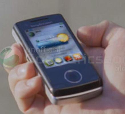 Sony Ericsson P5, la prima foto