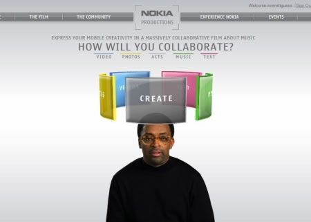Nokia e Spike Lee per un film mobile