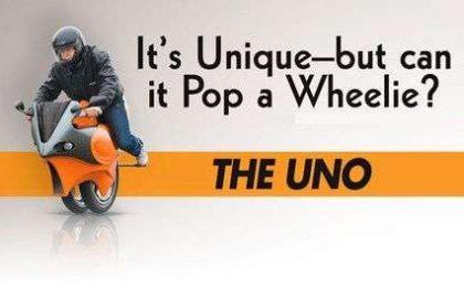 The Uno: moto segway!