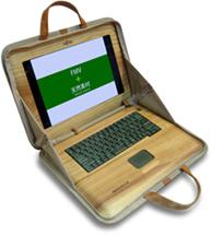 Notebook Fujitsu Woodshell di legno