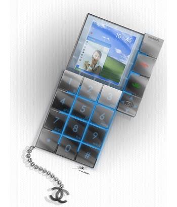 Cellulare concept per Coco Chanel