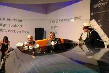 Czeers MK1: velocissima barca a energia solare