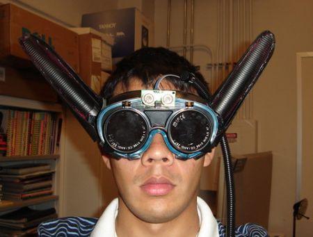 Gli occhiali per diventare un pipistrello
