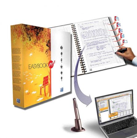 Oxford Easybook M3: quaderno digitale per riversare gli appunti nel pc