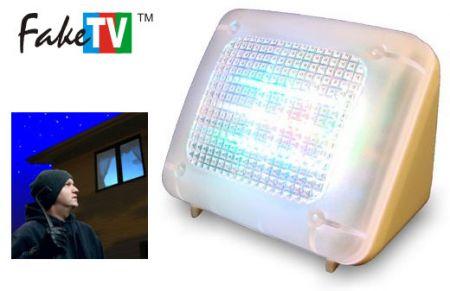 FakeTv: una falsa tv anti ladro