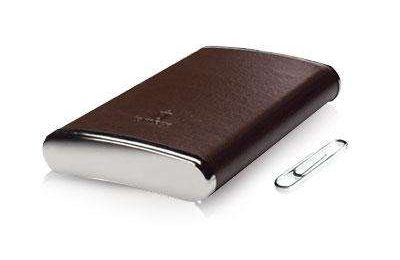 Iomega eGo Leather Portable Hard Drive