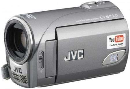 JVC GZ MS100 predisposto a Youtube