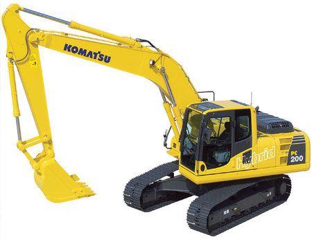 Komatsu PC200-8 escavatore ibrido