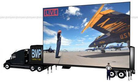 La più grande HDTV mobile al mondo