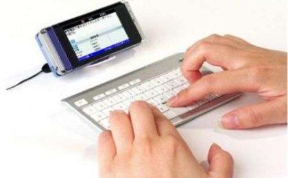 I-O mini tastiera Bluetooth